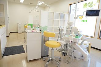 柏市『菜のはな歯科クリニック』の診療室
